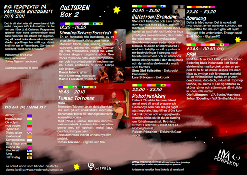 kulturnatt 2011 program